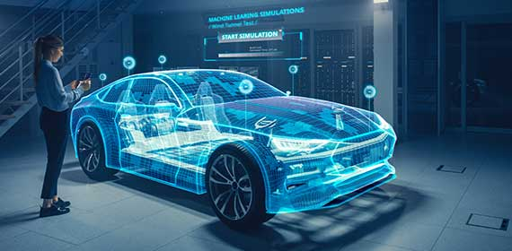Solutions digitales Automobile